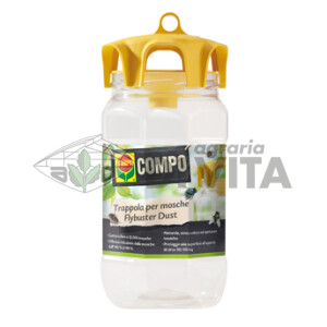COMPO – FLYBUSTER DUST 25gr- TRAPPOLA PER MOSCHE