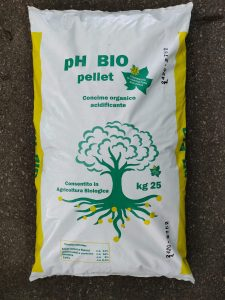 pH BIO Pellettato Concime Organico Acidificante Biologico 25kg